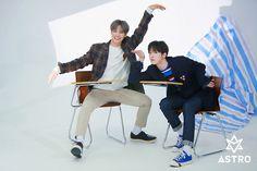 Rocky [라키] and Yoon Sanha [윤산하] Dance Legend, Astro Boy, Cha Eun Woo, Sanha, Minhyuk, Kpop Groups, Korean Boy Bands, Good News, Rapper