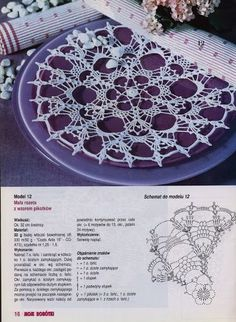 Moje Robotki 7 2003 - - Álbuns da web do PicasaKira crochet: Crocheted scheme no.This would make a very pretty start to a top or dress. Crochet Doily Diagram, Crochet Doily Patterns, Crochet Mandala, Crochet Chart, Filet Crochet, Irish Crochet, Crochet Motif, Knit Crochet, Crochet Books