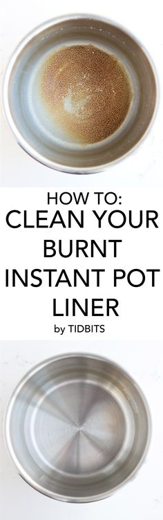 to Clean a Burnt Pressure Cooker Liner Pot How to Clean Burnt Instant Pot Liner, easily go from burnt to shining in minutes!How to Clean Burnt Instant Pot Liner, easily go from burnt to shining in minutes! Power Pressure Cooker, Electric Pressure Cooker, Instant Pot Pressure Cooker, Pressure Cooker Recipes, Pressure Cooking, Instant Cooker, Pressure Pot, Burnt Food, House Cleaning Tips