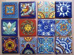 Mexican tiles by janelafazio, via Flickr