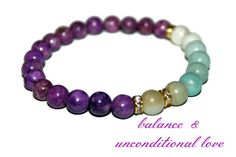 Sugilite Bracelet Sugilite Jewelry Woman Mala Bracelet for Balance Wisdom Bracelet Love Bracelet Inspirational Jewelry Amazonite Bracelet
