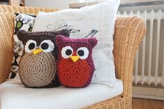 cute crochet owls