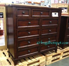 Bayside Furnishings Executive Writing Desk. #Costco