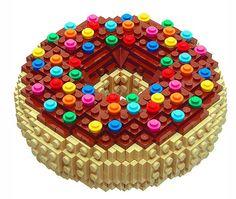 lego creations - donut