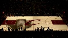 Cleveland Cavaliers PreGame Court Projection. Quince Imaging, in partnership…
