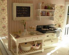Even a miniature kitchen wants an Aga!