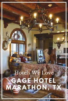 Gage Hotel // Marathon, TX // Named the best hotel in Texas!