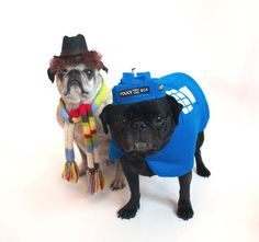 Dr. Who 4 and Tardis // dog costumes - OCCASIONS AND HOLIDAYS Craftster.org