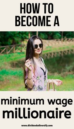 Learn how to become a minimum wage millionaire. You too can become a millionaire on a low income. Smart money management tips to build wealth at any age. Money Saving Tips, Money Tips, Managing Money, Savings Planner, Become A Millionaire, Minimum Wage, How To Become Rich, Budgeting Money, Investing Money