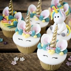 Image result for unicorn cupcake