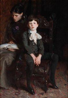 John Singer Sargent. Portrait of a Boy.