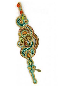Granada unique handmade bracelet by Dori Csengeri  #DoriCsengeri #handmadejewelry #designermaker #statementbracelet
