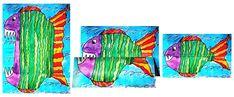 Plastiquem: PEIX O PIRANYA? Oooh - patterns/colors/surprise!