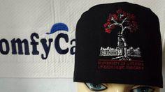 University of Ottawa Orthopaedic Surgery logo embroidered on a male scrub cap