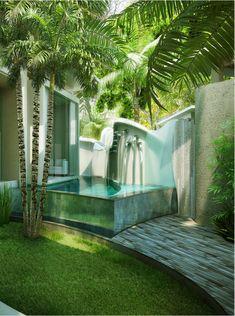 Outdoor Bath Space
