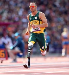 South Africa's Oscar Pistorius, the first amputee to compete in an Olympic track event, advanced to Sunday's semifinals in the 400 meters by finishing second in his qualifying heat. (Simon Bruty/SI)  GALLERY: London 2012 Olympics Games Day 8 | Day 7 | Day 6 | Day 5EPSTEIN:Experts split over whether Oscar Pistorius has unfair advantage