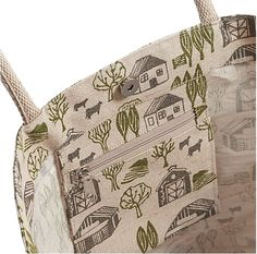 Crate & Barrel 'Farmer's Market Tote' 2015 design by Fiona Howard