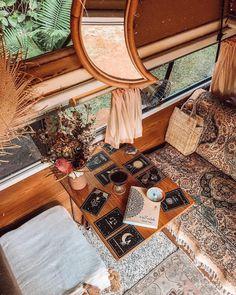 my little van workspace/dream journal station🌙✨ Dream Journal, Road Trip Adventure, Boho Boutique, Meditation Space, Home Decor Inspiration, Instagram, Bohemian, Wanderlust, Purple Quartz