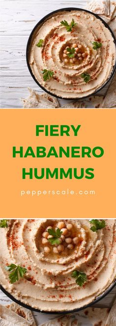 When jalapeño hummus isn't enough, get ready for the habanero hammer. Habanero Recipes, Chipotle Recipes, Spicy Vegetarian Recipes, Vegetarian Appetizers, Lunch Recipes, Vegetable Recipes, Appetizer Recipes, Veggie Meals, Chicken Wings Spicy