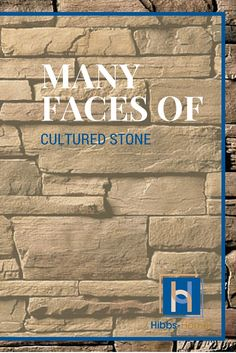 """Did you know cultured stone, looks like stone, but is manufactured from concrete to resemble natural stone. People love the look and it is """"usually"""" less expensive than natural stone. #naturalstone #culturedstone"""