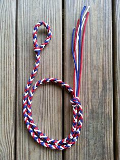 Over & Under Whip Red/White/Blue by KFallonCreations on Etsy