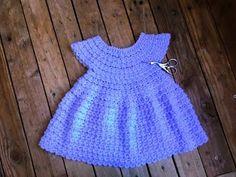 Crochet : Robe toutes tailles facile 2 / Dress crochet easy all sizes 2 - YouTube