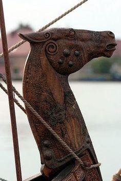 Norsk Boat Horse - circa 275 b.c.e.