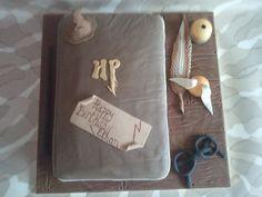 Harry Potter themed birthday cake ....