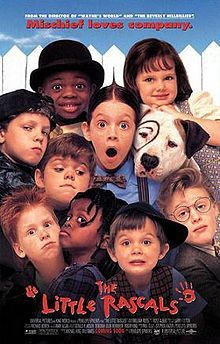 The Little Rascals (1994) -- This movie was on TV last night and I managed to catch a good chunk of it.  I had forgotten how cute and funny it is!