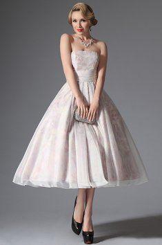 Jemné společenské šaty v retro stylu Vintage Prom cd02bb3669