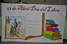 Resultado de imagen para mural dia del idioma español