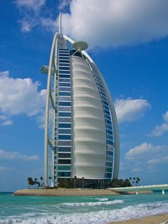 BURJ AL ARAB, DUBAI - Every room is a 2-story suite and comes complete with a personal butler. I spent one budget-busting night here on Round the World #1 and it's still the most incredible place I've ever stayed.