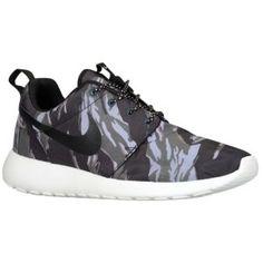 Nike Roshe Run - Men's - Black/Sail/Anthracite