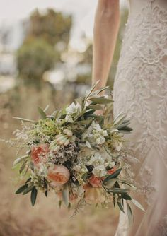 Les magnolias de la mariée: Bouquets de mariée Bohème