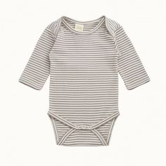 Cotton Long Sleeve Bodysuit