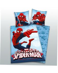 Ultimate Spiderman 100% cotton duvet cover reversible #beddingset