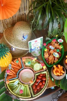 Rio Jungle Amazon Inspired Birthday Party Ideas - with DIy decorations, printables, food and favors! - via BirdsParty.com