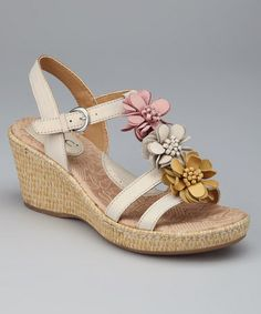 Take a look at this Pearly Damita T-Strap Wedge by b.o.c by Born on #zulily today!