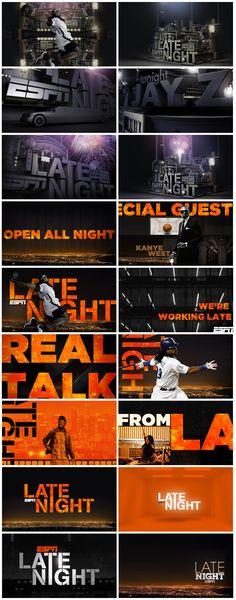 sports design - espn