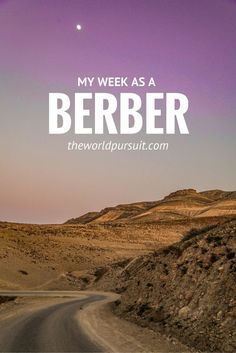My week as a Berber at the Berber Cultural Center