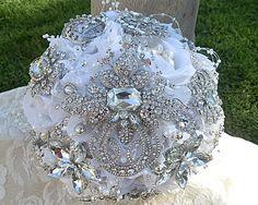 CUSTOM BROOCH BOUQUET  Deposit for this by Elegantweddingdecor, $150.00