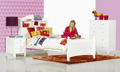 Alexia Single Timber Kids Bed | Bedshed