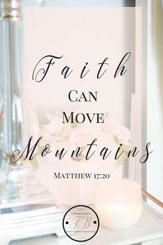 Keeping Faith. Prayers get answers. Keep praying