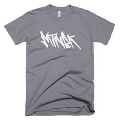 "MTNBK ""Graffiti"" T-Shirt - Slate, available on www.MTNBK.com"