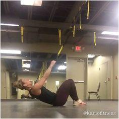 "526 Likes, 38 Comments - Kari Merrill (@kariofitness) on Instagram: ""#TRXTuesday TRX Seated Deltoid Y + TRX Muscle Up Prep @trxtraining #TryItTuesday ✌️"""