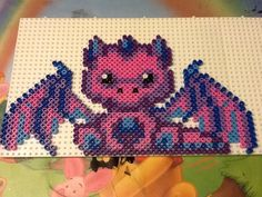 Dragon hama beads by Randi Frederiksen