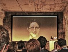 Image captured on the BlueYard Capital event in Berlin, June 1st: The mission to upgrade the internet & an open conversation with Edward Snowden—Decentralized & Encrypted