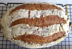 Worthy of a Knight - Götzenburg Bread. Rye sourdough with spelt, einkorn, barley and a millet porridge. With interactive formula: http://hanseata.blogspot.com/2014/08/worthy-of-knight-gotzenburg-bread.html
