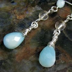 Jewelry repairs you can do yourself self improvement jewelry earrings faceted oregon sunstone amazonite sterling silver wire wrap solutioingenieria Image collections