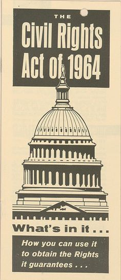 February 1964: House of Representatives Passes Civil Rights Act. The landmark piece of legislation that outlawed all major forms of discrimination in the U.S. passed the House of Representative in February 1964. It would go on to pass the Senate in June and was signed into law by President Lyndon B. Johnson on July 2, 1964